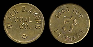 five cent scrip